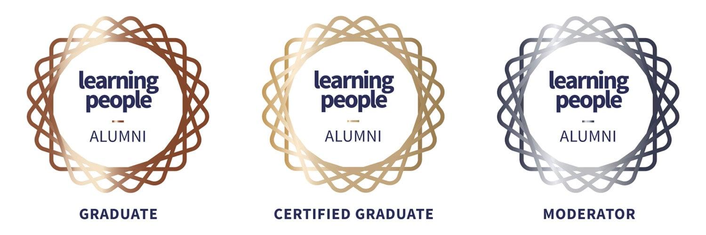 Learning People | Alumni member badges