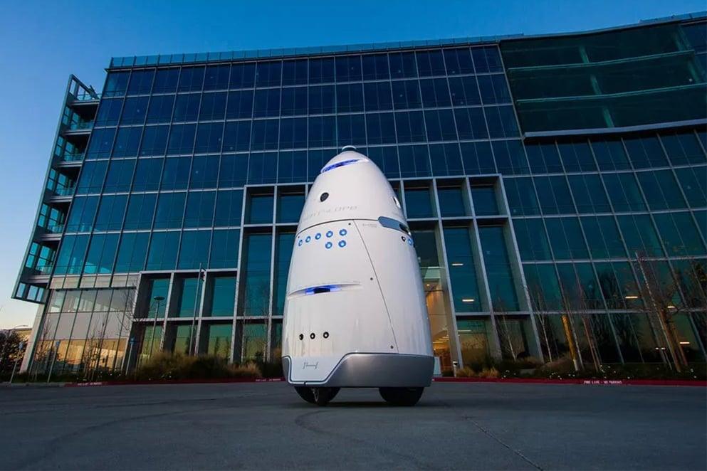 Silicon Valley robot security guard