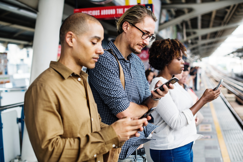 Online shopping on mobiles